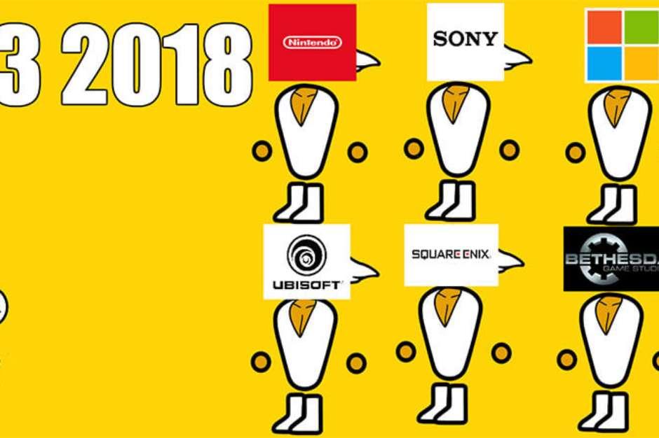 Melhores memes da E3 2018 Foto: Reprodução