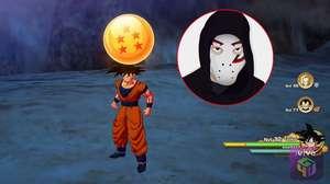 Zangado mostra Esferas do Dragão de Dragon Ball Z: Kakarot