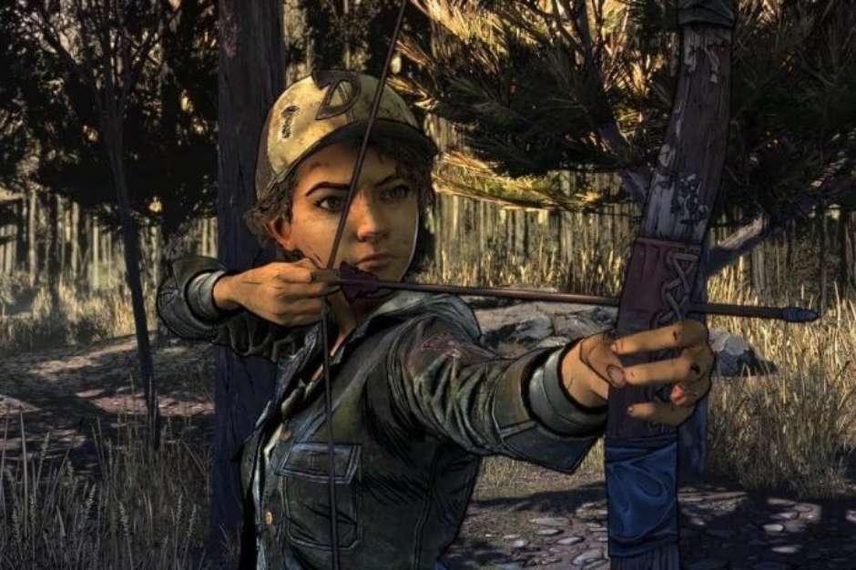 10. Clementine (Telltale's Walking Dead): Sobreviver no meio do apocalipse zumbi não é nada fácil Mas ela é forte demais! Foto: TellTale / Divulgação