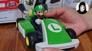 Zangado faz o 'unboxing' do Mario Kart Live: Home Circuit