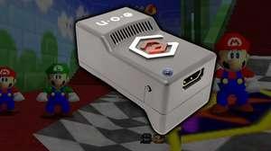 Adaptador permite rodar Nintendo 64 em televisores atuais