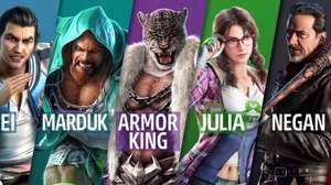 Nuevos peleadores llegan a Tekken 7