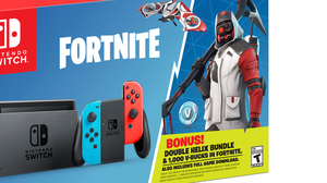 Nintendo anuncia un bundle de Switch con Fortnite