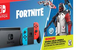 Nintendo anuncia un bundle de Switch con Fortnite