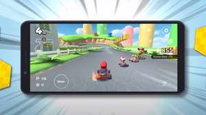 ¡Ya podrás jugar Mario Kart Tour horizontalmente!