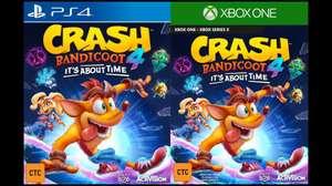 ¡Se filtró Crash Bandicoot 4!