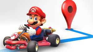 Mario Kart llega a Google Maps