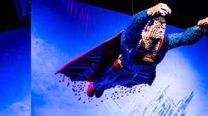 Exposição em SP mostra LEGO de heróis da DC em tamanho real