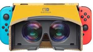 Nintendo reveló su kit de realidad virtual para LABO