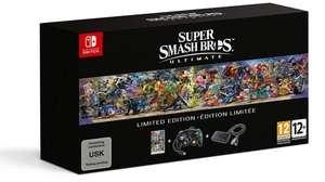 Anuncian edición limitada de Super Smash Bros. Ultimate