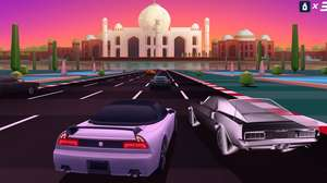 Horizon Chase Turbo revive corridas dos anos 1980 e 1990