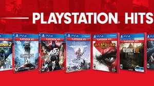 Sony revela los nuevos juegos de PlayStation Hits