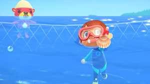 La actualización de Animal Crossing nos dejará nadar y bucear en el juego