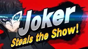 Joker, protagonista de Persona 5, llega a Super Smash Bros.