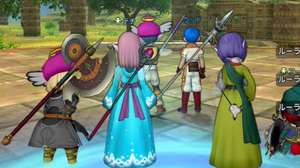 ¡Mira qué lindo Dragon Quest X rodando en el Switch!