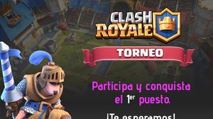 TORNEO CLASH ROYALE DE GAMES4U