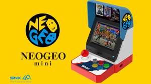 SNK revela los primeros detalles de NeoGeo Mini