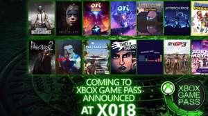 PUBG y Hellblade se sumarán a Xbox Game Pass