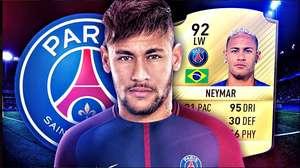La llegada de Neymar al PSG ya está en FIFA 18